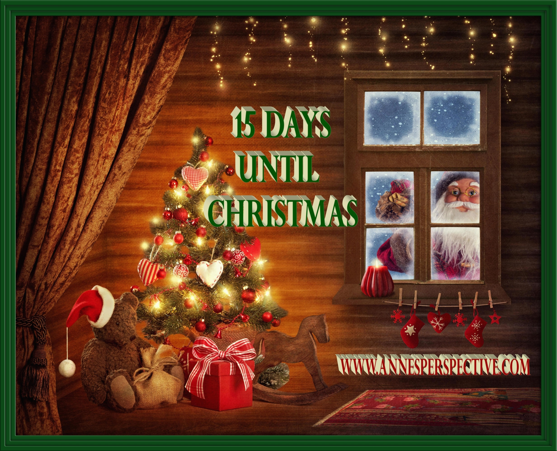 Until Christmas 10 Weeks Till Christmas.15 Days Until Christmas With Frame Anne S Perspective